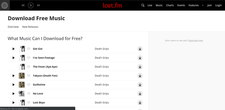 lastfm - best sites to download english songs free