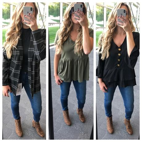 3 different looks from fall fashion at Meijer