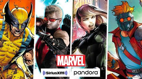 Marvel and SiriusXM Enter a Major Multi-Year Deal to Create Original Podcasts for SiriusXM and Pandora