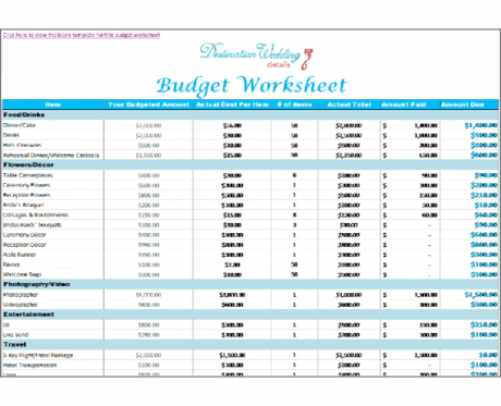 wedding planning spreadsheet destinationweddingdetails budget spreadsheet simple