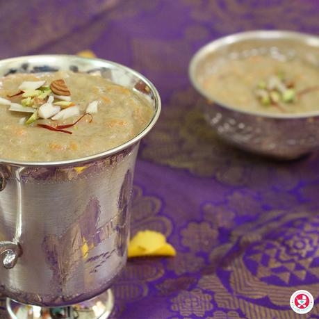 Perfect festival treat for your babies! Carrot poha kheer for babies is a simple yet tasty sweet recipe with no sugar. It is highly nutritious as well.