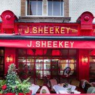 Dine at J Sheeky, Covent Garden
