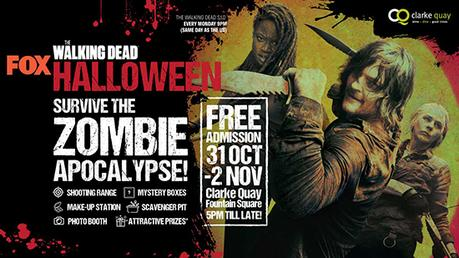 Get Ready For Zombie Invasion This Halloween At Clarke Quay!