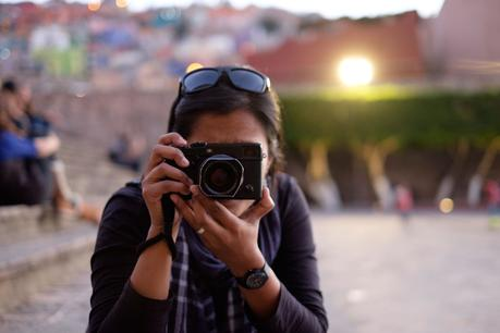Charlene and the X-Pro 1, 2, 3 !
