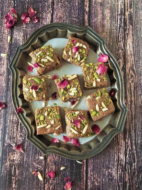 Walnut Barfi Recipe, How To Make Akhrot ki Barfi