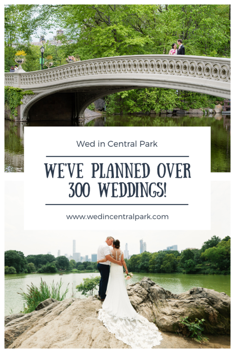 Wed in Central Park conducts 300 weddings!
