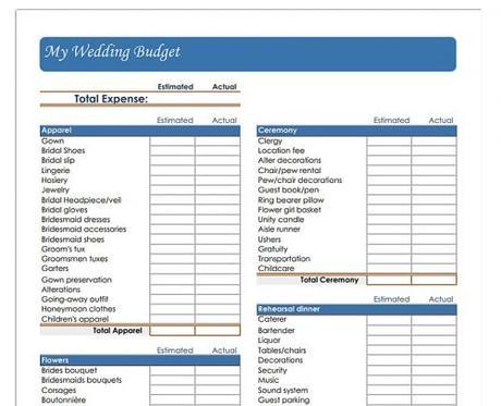 wedding budget spreadsheet wedding budget printables vertex42