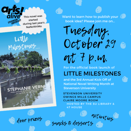 Launching Little Milestones AND NaNoWriMo in one Evening on Campus