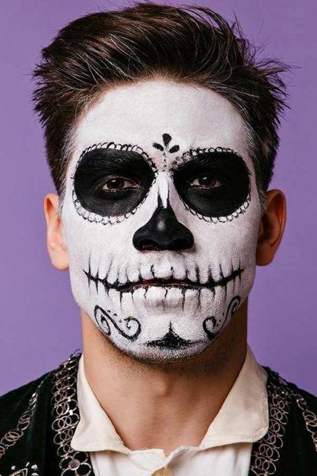 The Best, Easiest Mens' Makeup for Halloween 2019