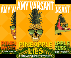 Name the Pineapple Port Mysteries Skull Win a Kindle Reader
