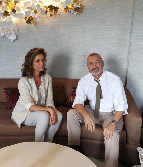 Arturo Perez Reverte entrevistado por Elena Cue