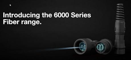 Bulgin 6000 Series Fiber Connector