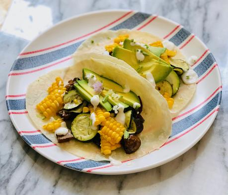 Vegetarian Mexican Tacos with Lime Crema2 min read