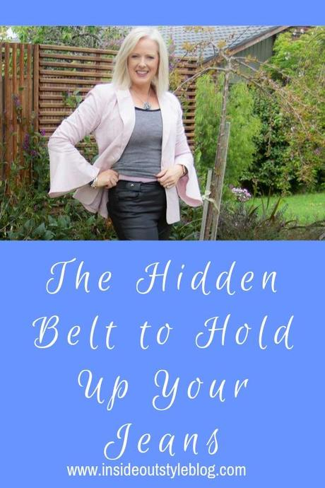 The Hidden Belt to Hold Up Your Jeans