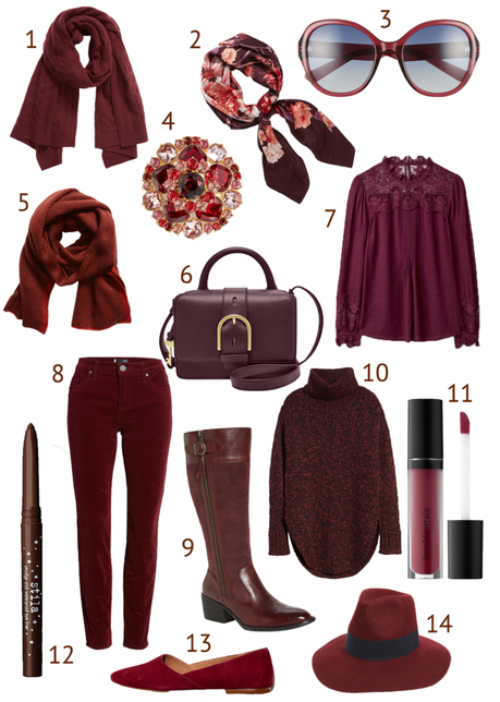 Burgundy – The Unexpected Neutral This Season