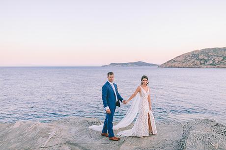 Romantic chic summer wedding in Sifnos   Gabrielle & Beau