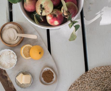 The best apple crumble pie evahhh!