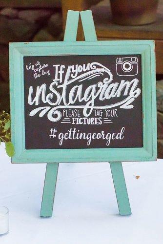 cute wedding ideas wedding hashtag