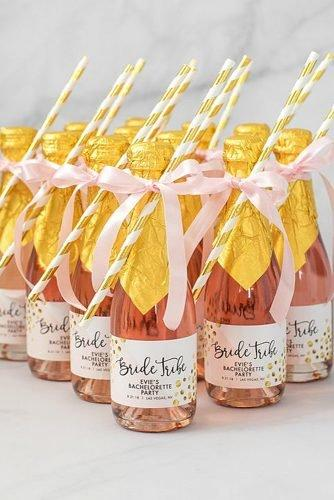 cute wedding ideas mini alcohol bottles wedding favors