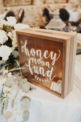 cute wedding ideas honeymoon fund