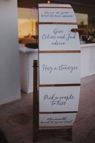 cute wedding ideas entertainment wedding wheel