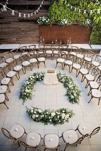 cute wedding ideas circular seating arrangement