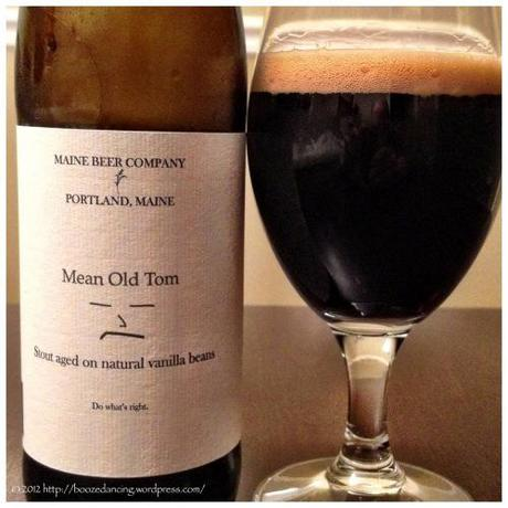 Beer Review – Maine Beer Company Mean Old Tom Stout