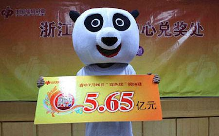 20 Photos Of Chinese Lottery Winners Wearing Silly Masks