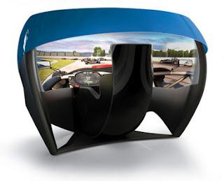 TL1, First Racing Game Simulator with 180 degree screen, 5760x1200 Pixel