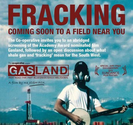 Fracking: FREE screening of 'Gasland' in Dorchester 30th May 2012
