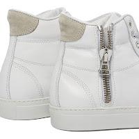 Summer White is Right: Wings + Horns Leather High Top Sneaker