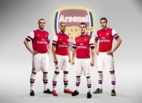 Arsenal 2012-13 kit