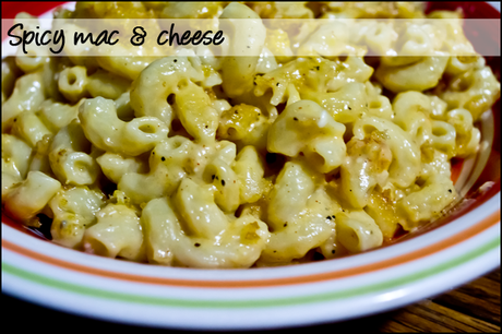 Recipe box: spicy mac and cheese