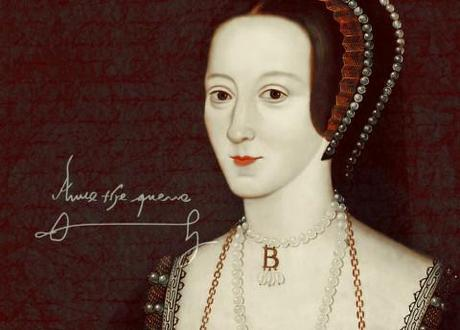 Anne Boleyn, whose downfall is told in Bring up the Bodies by Hilary Mantel