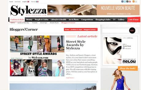 FEATURE AT STYLEZZA.COM