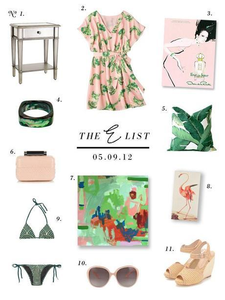 small shop the e list pink green deco
