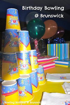 Birthday Bowling at Brunswick
