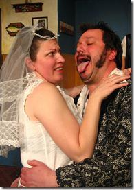 Shannon O'Neill and Blake Dalzin as Connie and Earl.  Photo by: Carrie Sullivan