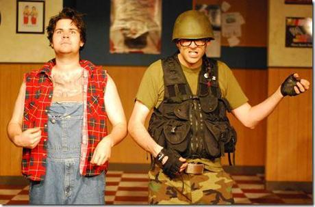 Phil Claudnic and Ryan Oliver as Drew and George Photo by: Paul Metreyeon