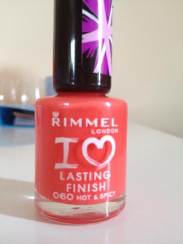 Notd: rimmel hot and spicy