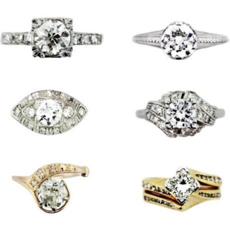 Vintage Engagement Rings Part II