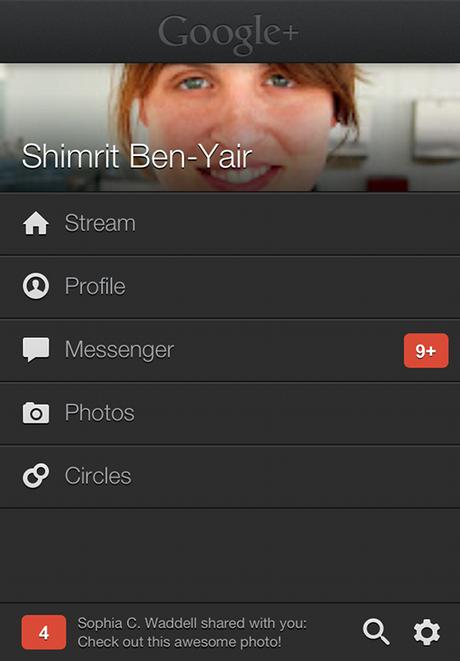 Google+ App Gets a Gorgeous New App