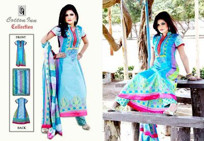 Yashfeen Lawn 2012 Cotton Inn Summer Collection by Maria