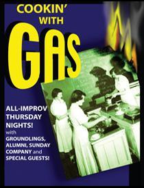 Joe Manganiello and Michael McMillian Cook With Gas tonight at the Groundlings