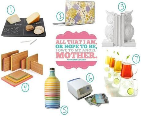 a mother's day gift guide.