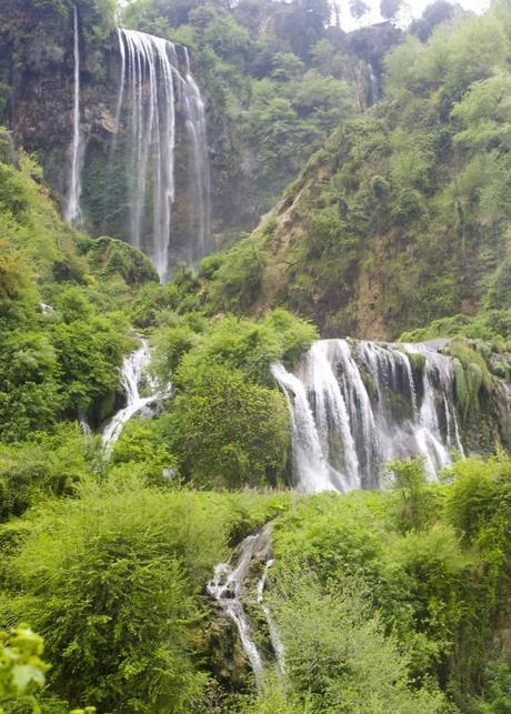 man made waterfalls marmore's waterfalls