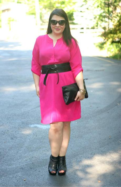 Thursday - Hot Pink and Black