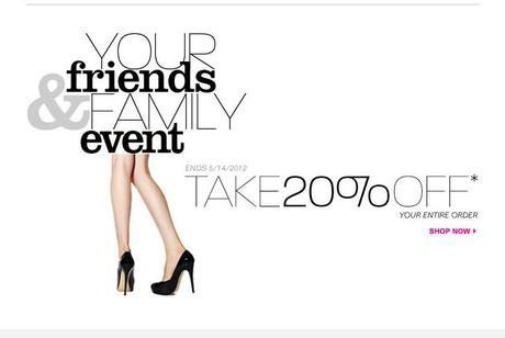 Nine West 20% off friends and family event mn stylist fashion trends