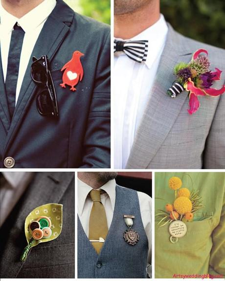 Accessorizing the Fashion Forward Groom