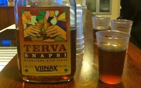 finnish drinks terva snapsi